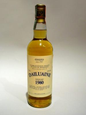 dailuaine samaroli 1980/1998