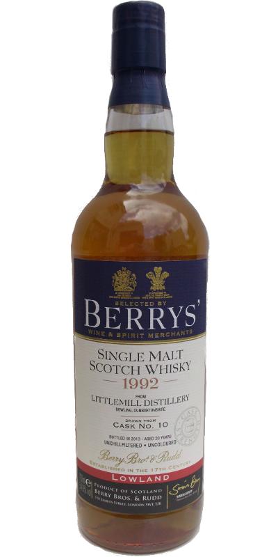 littlemill 1992/2013 berry's