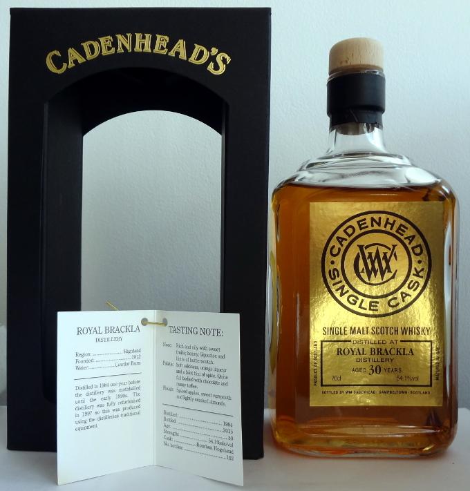 Royal Brackla 1984/2015 (Cadenhead's, </p srcset=