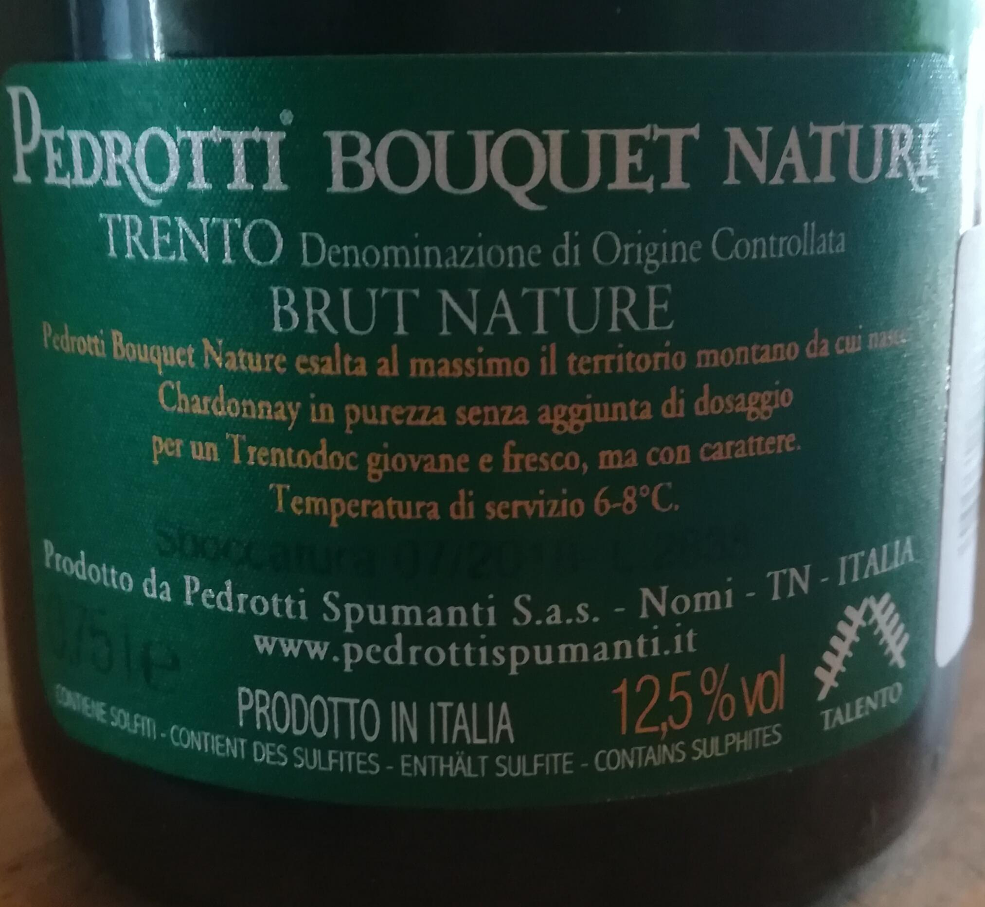 Pedrotti Trentodoc Brut Nature