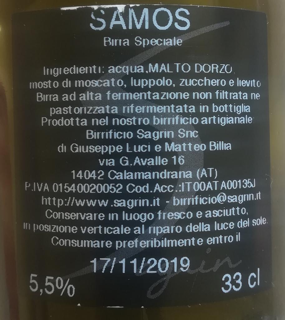 Sagrin Samos