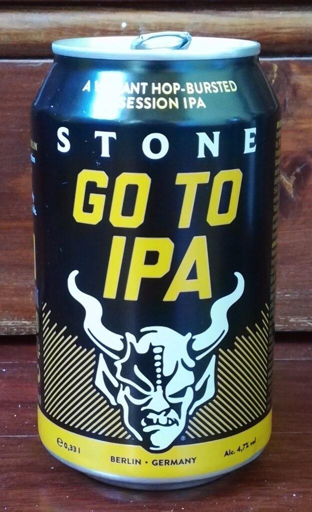 Recensione della birra Go To IPA del birrificio Stone Brewing degli USA, con sede anche a Berlino dove questa lattina da session è stata prodotta.
