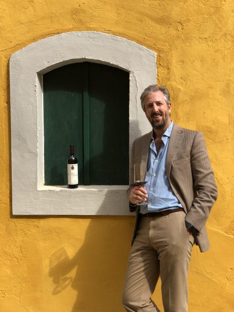 Anselmo Guerrieri Gonzaga - Tenuta San Leonardo - Intervista