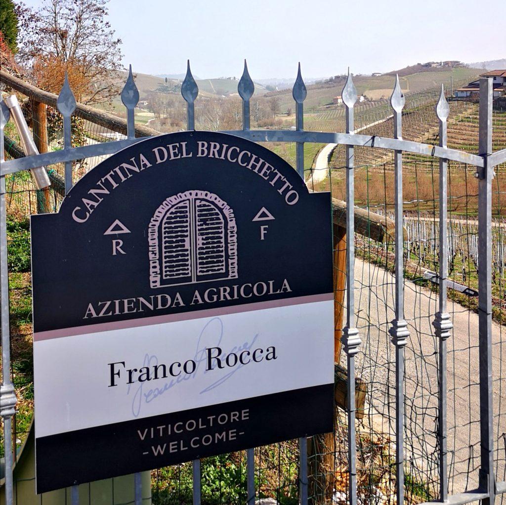 FRANCO ROCCA - BARBARESCO - VISITA IN CANTINA